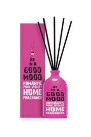 be in a good mood BE IN A GOOD MOOD Romantic Pink Violet Stick Diffuser - Product Mini Image