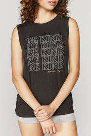 Spiritual Gangster  Be Kind Chakra Tank - Front cropped