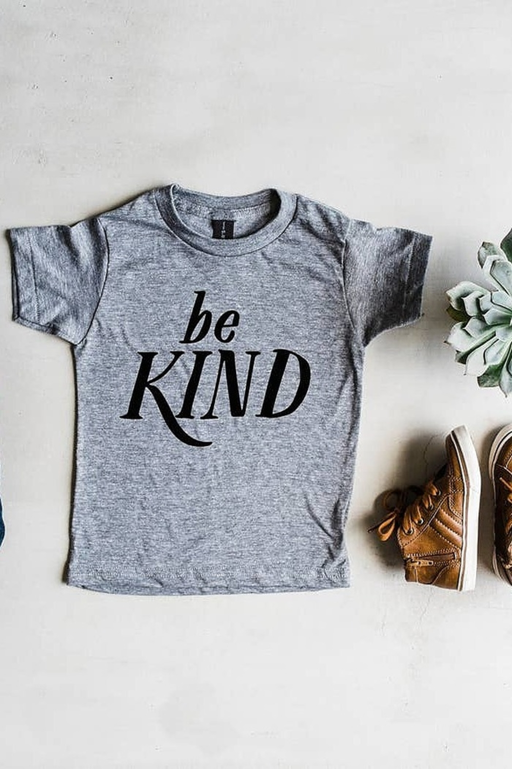 Oyster's Pearl Be Kind Kids Tee - Main Image