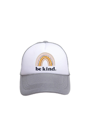 Tiny Trucker  Be Kind Rainbow Trucker Hat - Product Mini Image