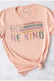 Crazy Cool Threads  Be Kind t-shirt - Product Mini Image