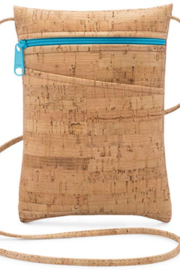 Natalie Therese Be Lively Mini Cross Body Bag | Rustic Cork - Product Mini Image
