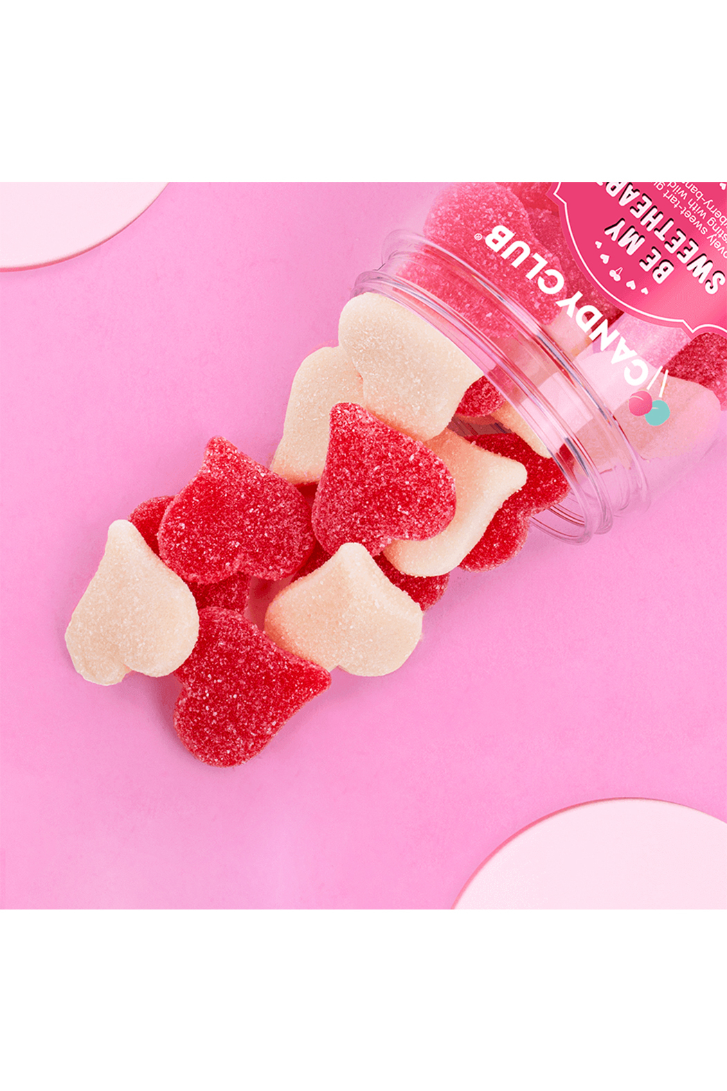 Candy Club Be My Sweetheart Gummies 8oz - Front Full Image