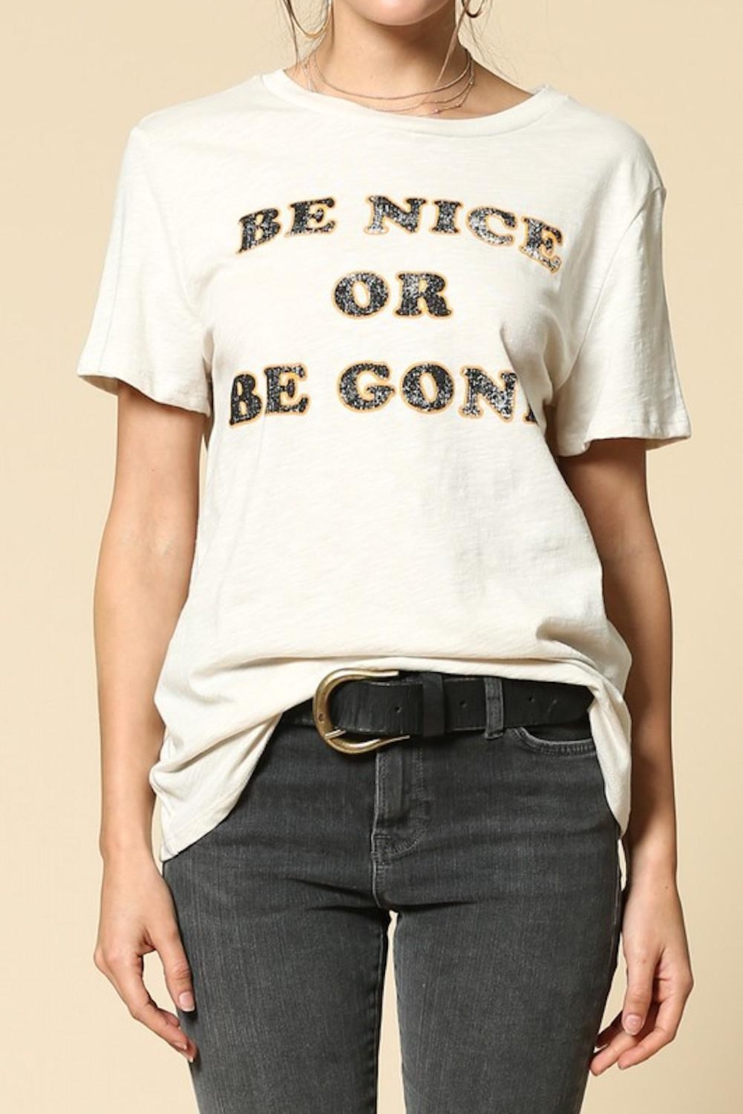 By Together Be Nice Tee - Main Image