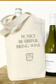 Faire Be Nice - Wine Tote - Product Mini Image