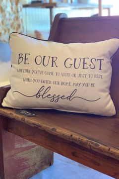 Little Birdie Be our Guest...Pillow - Alternate List Image