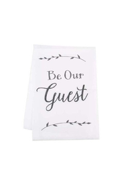 Ganz Be-Our-Guest Towel - Product Mini Image