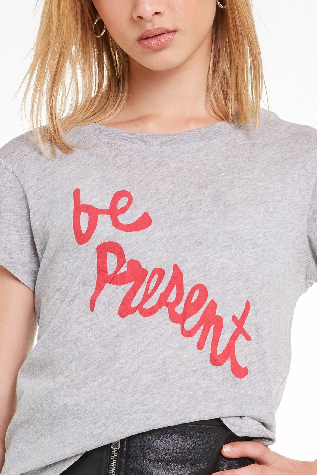 Wildfox Be Present Tee - Back Cropped Image