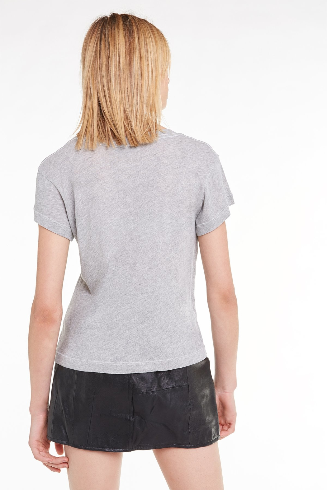 Wildfox Be Present Tee - Side Cropped Image