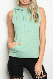 Be.YOU.tiful Hooded Tank - Front cropped