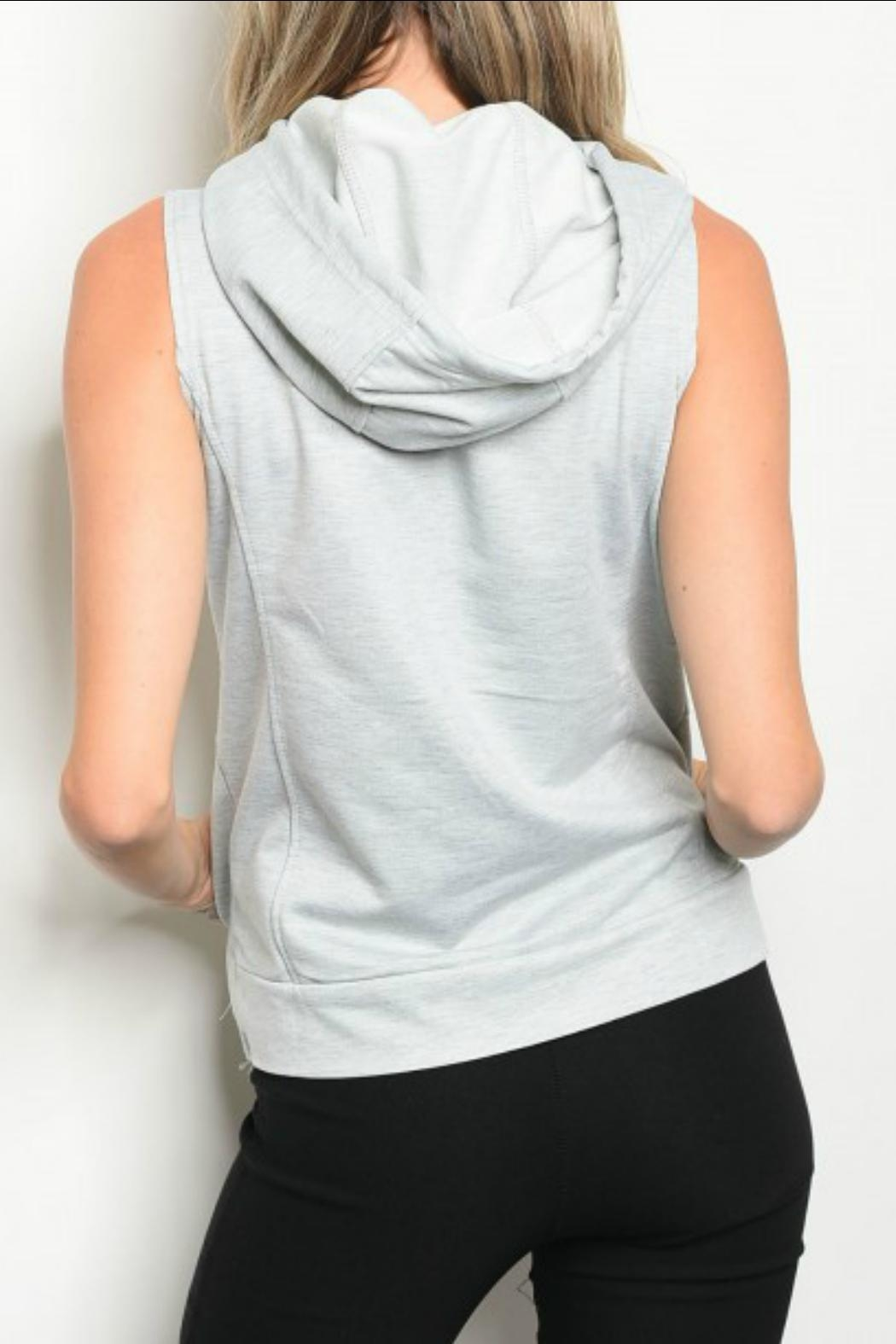 Be.YOU.tiful Hooded Tank - Front Full Image
