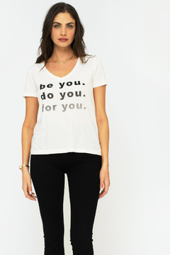 Shoptiques Product: Be You V- Neck Tee