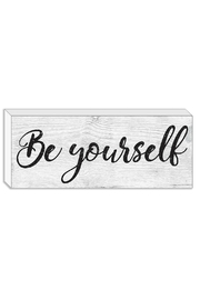 Streamline Art & Frame Be Yourself Block - Product Mini Image