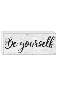 Streamline Art & Frame Be Yourself Block - Product List Image