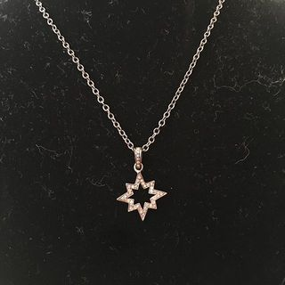 Shoptiques Diamond Star Necklace