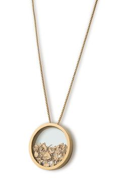 Be Bhagavati Big Gold Intuition Necklace - Product List Image