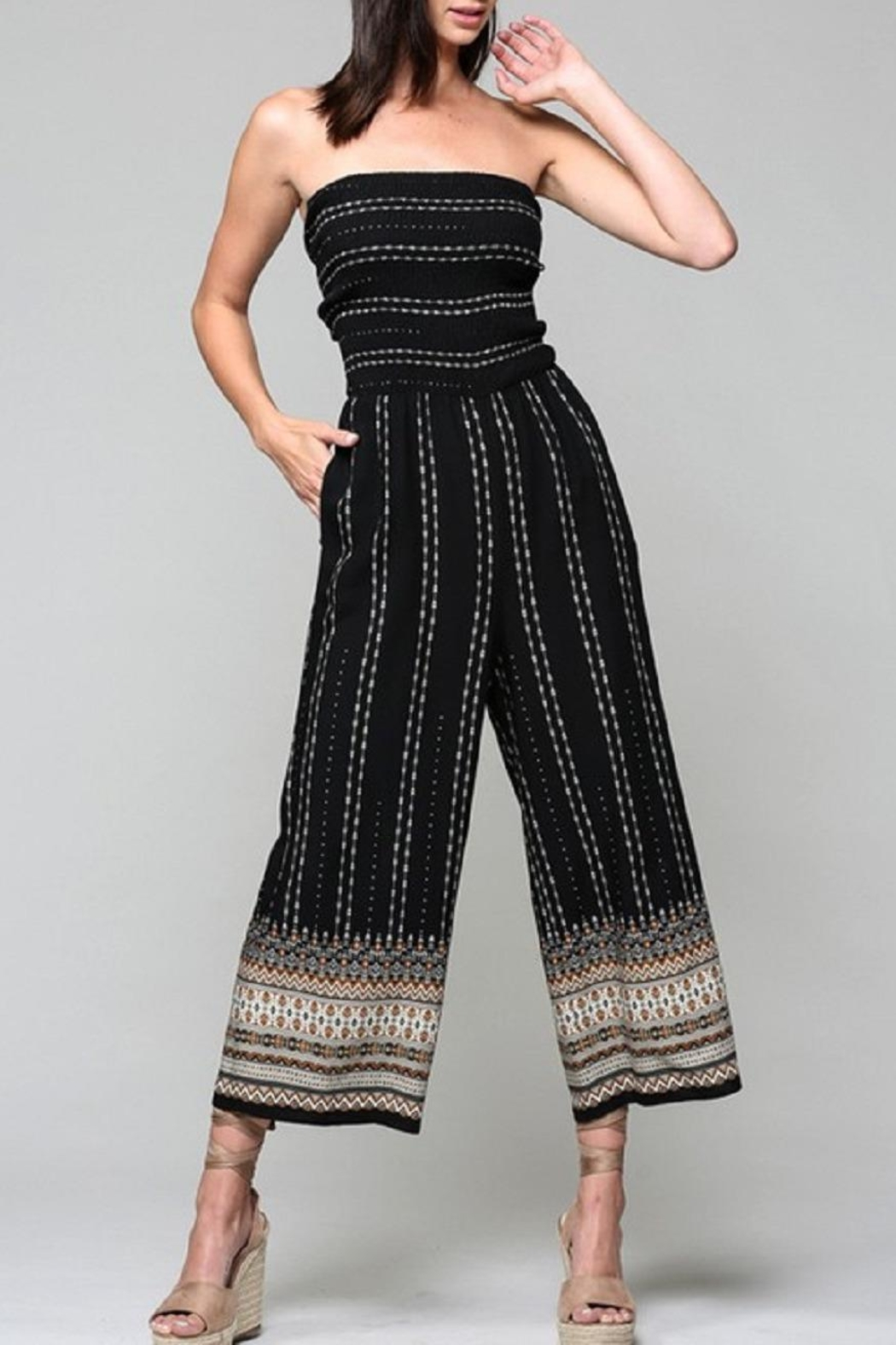 Be Cool Alice Tie-Back Jumpsuit - Main Image