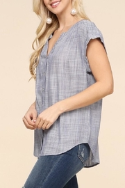 Be Cool Betina Button-Down Top - Front full body