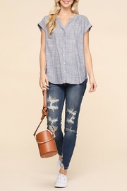Be Cool Betina Button-Down Top - Product Mini Image