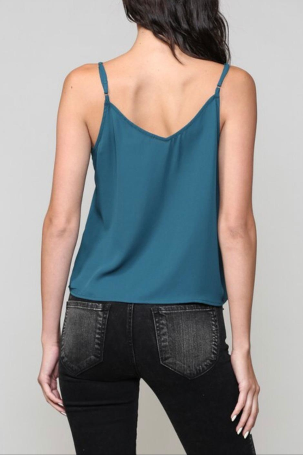 Be Cool Button Down Camisole - Front Full Image