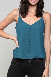 Be Cool Button Down Camisole - Front cropped