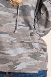 Be Cool Camo Soft Hoodie - Back cropped
