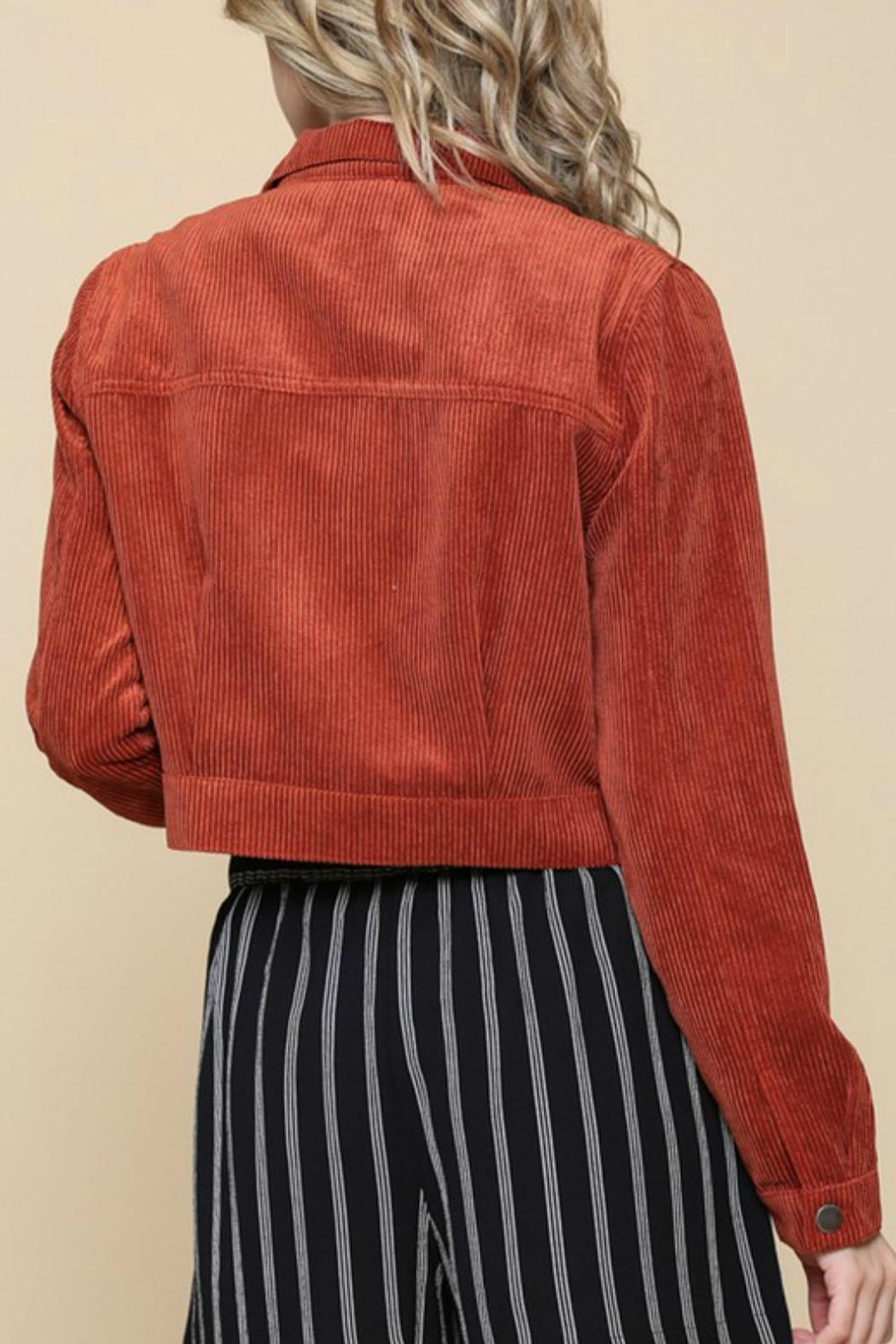 ALB Anchorage Corduroy Cropped Jacket - Front Full Image