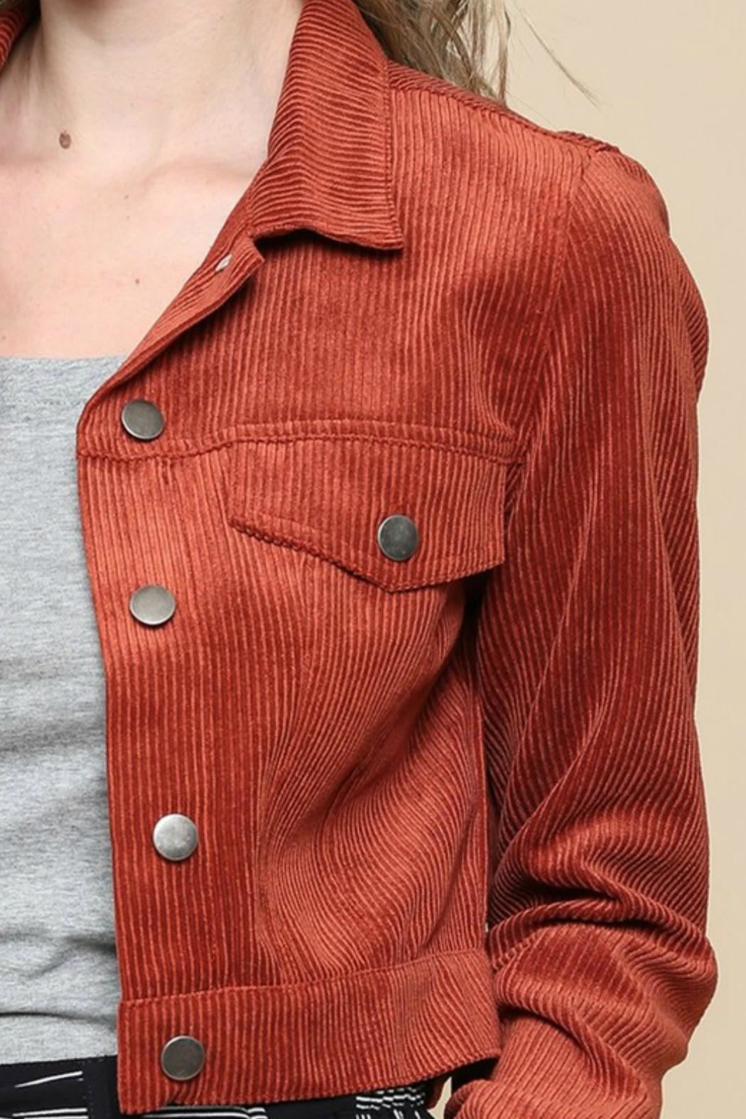 ALB Anchorage Corduroy Cropped Jacket - Side Cropped Image