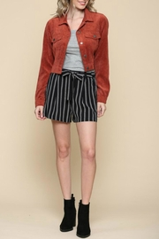 ALB Anchorage Corduroy Cropped Jacket - Back cropped