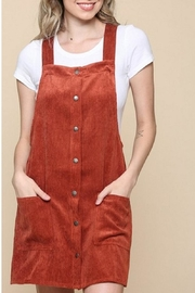 Be Cool Corduroy Dress Overall - Product Mini Image
