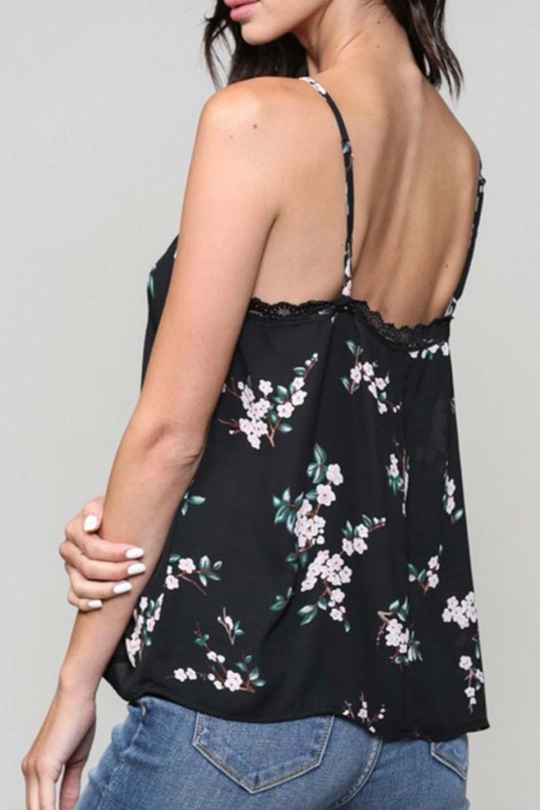 Be Cool Floral Print Cami - Front Full Image