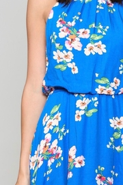 Be Cool Floral Print Dress - Front full body