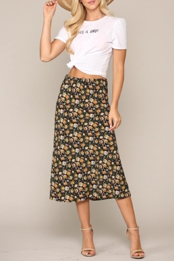 Be Cool Floral Skirt from California by Euphoria Rio Mix — Shoptiques