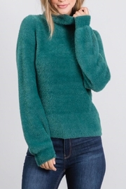 Be Cool Fuzzy Comfy Sweater - Product Mini Image
