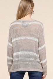 Be Cool Jenny Lightweight Sweater - Back cropped