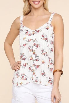 Be Cool Jess Flutter-Strap Camisole - Product List Image