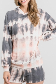 Be Cool Lightweight Tie-Dye Hoodie - Front cropped