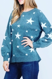 Be Cool Lucy Star Soft-Sweater - Product Mini Image