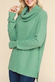 Be Cool Mint-Green Cowl-Neck Sweater - Product Mini Image
