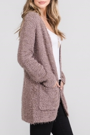 Be Cool Open Fuzzy Cardigan - Front full body