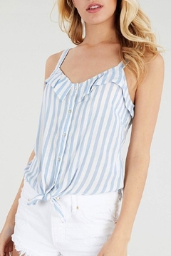 Be Cool Sarita Tie-Front Top - Product List Image