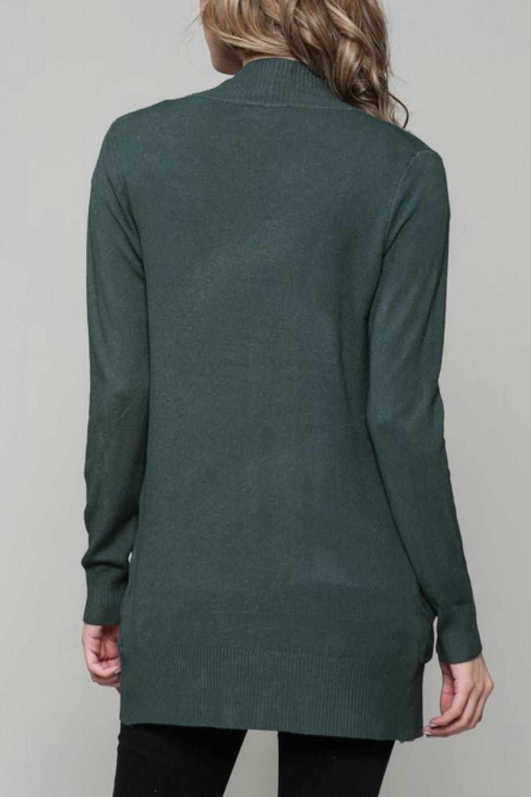 ALB Anchorage Super-Cozy Open Cardigan - Front Full Image