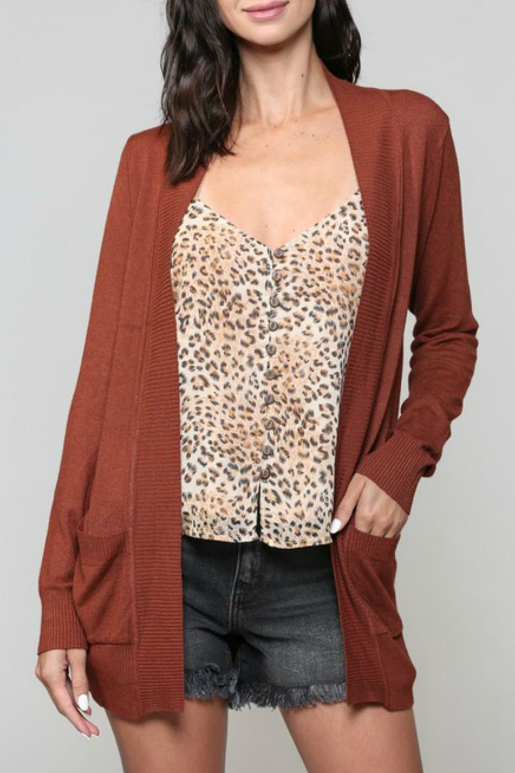 ALB Anchorage Super-Cozy Open Cardigan - Side Cropped Image