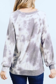 Be Cool Ultra-Soft Tie-Dye Sweater - Side cropped