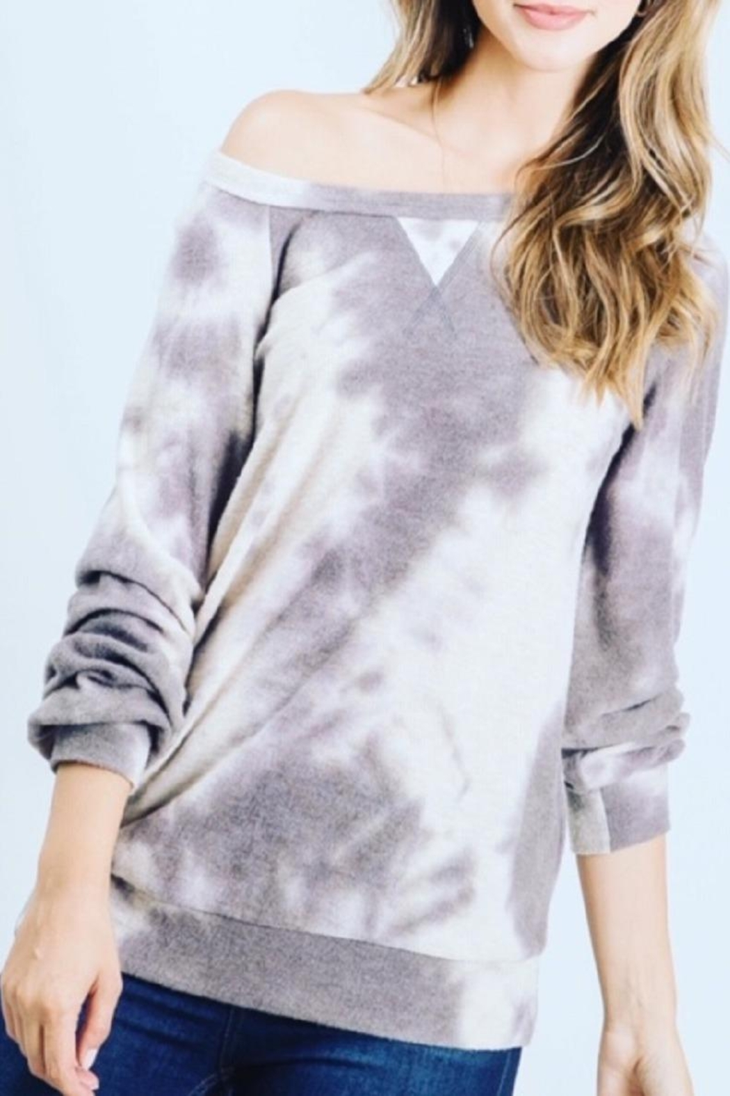 Be Cool Ultra-Soft Tie-Dye Sweater - Main Image