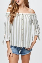 Be Cool Virginia Cold-Shoulder Top - Product Mini Image