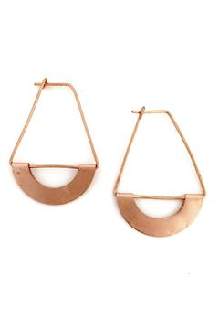 Shoptiques Product: Copper Hoop Earring