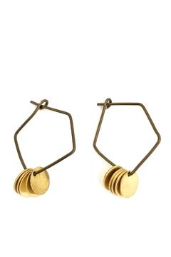Shoptiques Product: Tess Hoop Earring