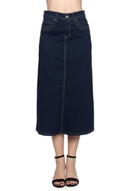 Be Girl Midi a-Line Denim - Front cropped