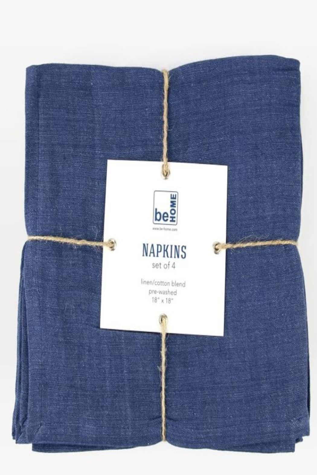 be HOME Linen Napkins Set Of 4 - Front Cropped Image